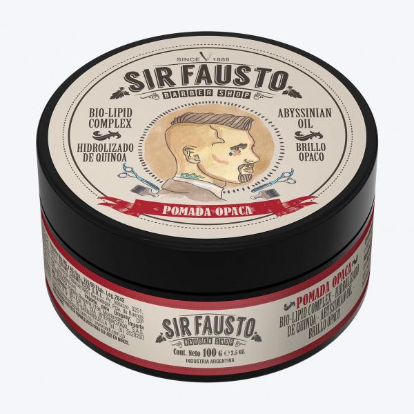 Sir Fausto Pomada Opaca 100 ml